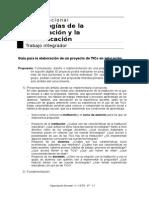 GuíaparalaelaboracióndeunproyectodeTICseneducación