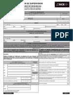 DSU 0000 for 0001 Formulario de Denuncias