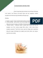 Dislokasi Elbow and Fracture
