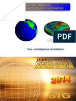 COORDENADAS GEOGRAFICAS - 2014
