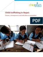 Children should be taught, not trafficked