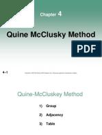 04-Chapter 4 - Quine-McCluskey Method