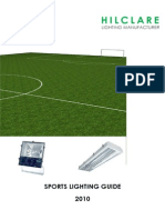 Hilclare Sports Lighting Guide