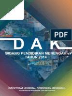 Buku Juknis Dan Juklak DAK 2014