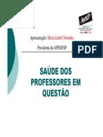 APEOESP - Saúde Do Professor Em Questão (2003)