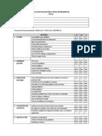 Lista de Cotejo Evaluación