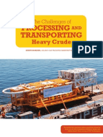The Challenges of Processing and Transporting Heavy Crude