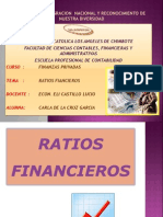 Ratios Financieros