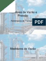 Medidores de Vazão e Pressão.ppt