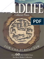 Woodworking - Wildlife Collector Plates for the Scroll Saw - (Skycowboypaul)