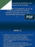 Test Mmpi (Inventario Multifasico de Personalidad De