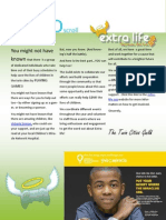 Extra-Life Newsletter