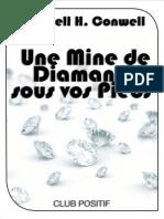 Une Mine de Diamants Sous Vos p - Russell H. Conwell