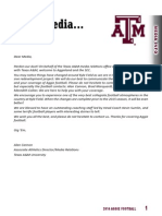2014 Texas A&M Media Guide