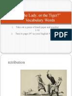 Tiger Vocab