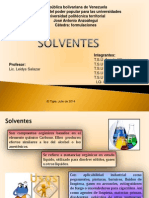 presentación solventes