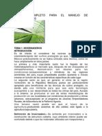 Manual Completo Para El Manejo de Invernaderos