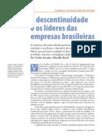 A Descontinuidade e Os Lideres Das Empresas Brasileiras