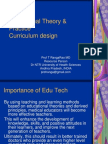 Curriculum Design-An Introduction