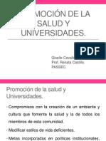 Promoción de La Salud y Universidades