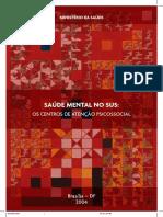 Manual Saude Mental No SUS Os CAPS MS 2004