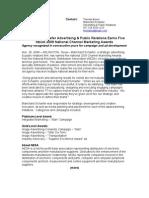 Blanchard Schaefer Advertising & Public Relations Earns Five NEDA 2009 Channel Marketing Awards