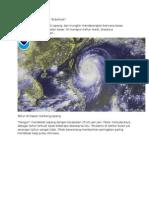 Artikel Tentang Siklon Tropis