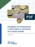 Estrategias De Transparencia y Lucha Contra La Corrupción En El Sector Privado Poder Ciudadano Argentina II