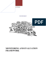 Monitoring and Evaluation Framework