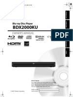Toshiba BDX2000_Owner's Manual