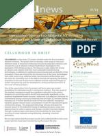First CELLUWOOD Newsletter