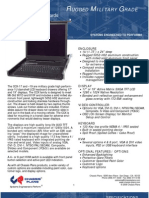 CCX 17 and 19-inch Rugged Military Grade LCD Keyboard Drawer Datasheet