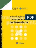 Indice Regional de Transparencia Parlamentaria 2008 Poder Ciudadano