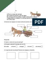 1ºano Português 2o Período