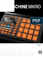 Maschine Mikro Mk1 Manual English