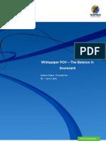 POV - Balance in Balanced Scorecard - Service Desk