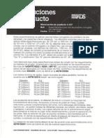 ADS Hoja Técnica 3.107 (1) Especificaciones Para Tubos HDPE