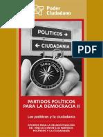 Partidos Políticos para la Democracia II Poder Ciudadano Argentina