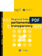 Regional Index Of Parliamentary Transparency Poder Ciudadano Argentina