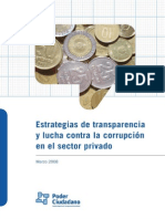Transparencia Sector Privado Poder Ciudadano Argentina