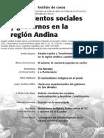 CLACSO - Movimientos Sociales y Gobiernos en La Región Andina
