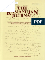 The Ramanujan Journal Vol.06, No.4, December 2002