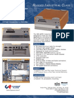 IMC-A2PCI Rugged Fanless Industrial Control Computer Datasheet