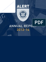 2013 14 ALERT Annual Report