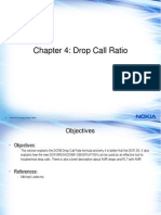 Advanced RANOP Chapter 4 - Drop Call Ratio