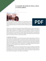 Formando líderes en gestión del cambio de clima y cultura organizacional en el sector público.doc