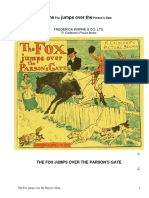 The Fox Jumps Over the Parson's Gate by Anonymous