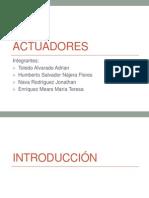 Presentacion Actuadores