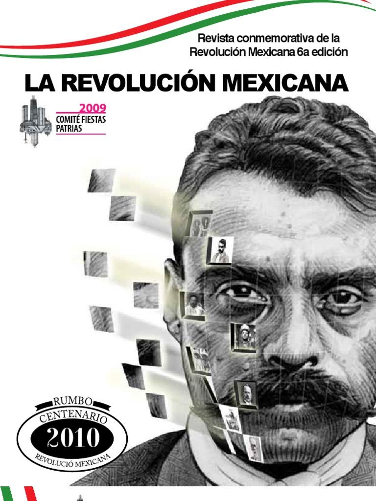 Revista de la Revolucion Mexicana Noviembre  09 - Comite Fiestas Patrias  Chicago 1d2de9f6a9c