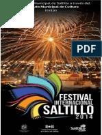 Cartelera Festival Internacional Saltillo